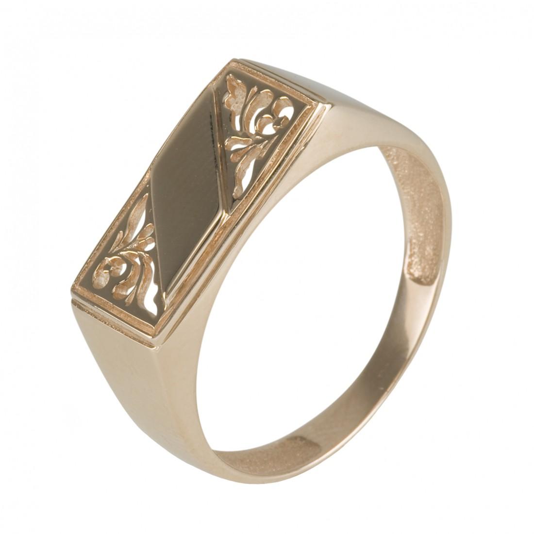 Модель:911179. Серебряное мужское кольцо (печатка) изготовлено из серебра 925 пробы и покрыто родием, что