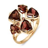 """Кольцо с полудрагоценными камнями """"Pazl"""""""