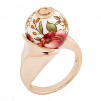 Серебряное кольцо с акрилом Joli