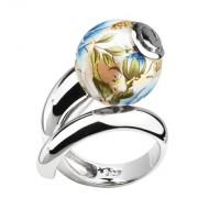 Серебряное кольцо Joli с акрилом