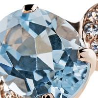 Коллекция Super Light - Кольца и серьги с топазами в серебре и золоте