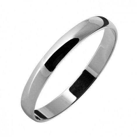 Обручальное кольцо гладкое